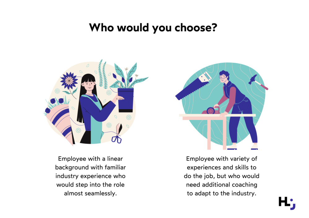 Which employee would you choose?