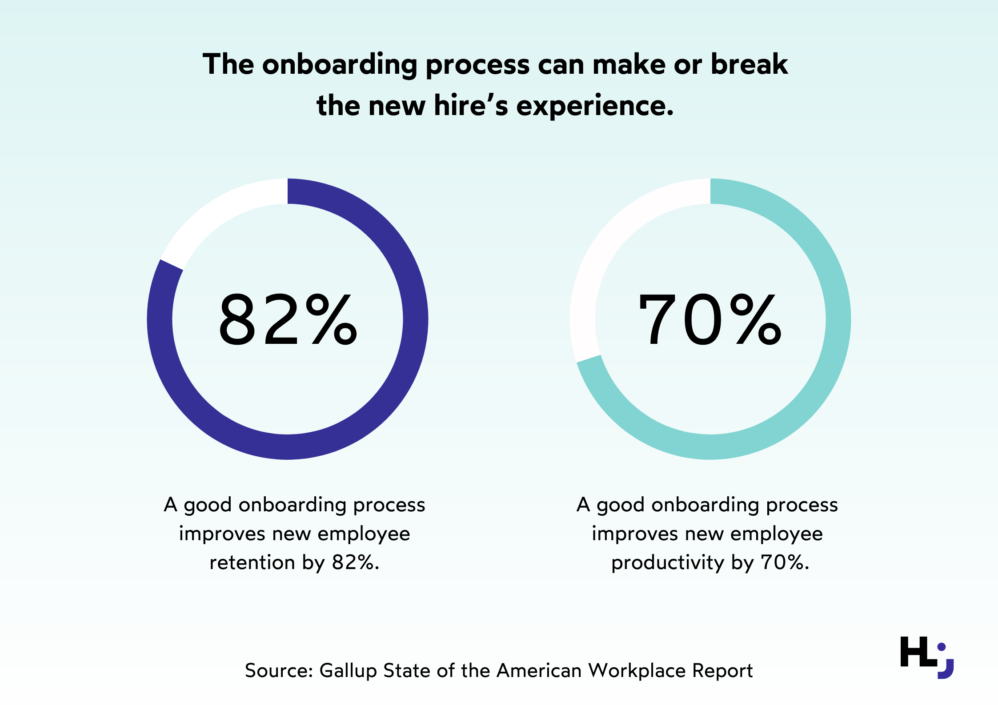Onboarding can make or break the new hire experience