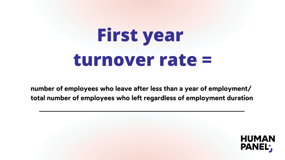 HR metrics: Formula to calculate early turnover