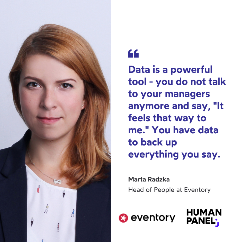 Marta Radzka on how she started people analytics at a startup.