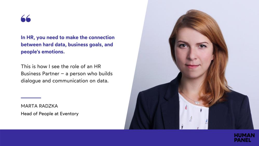 Marta Radzka on building people analytics in a startup